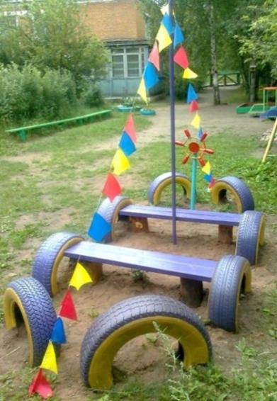 Как сделать детскую площадку своим